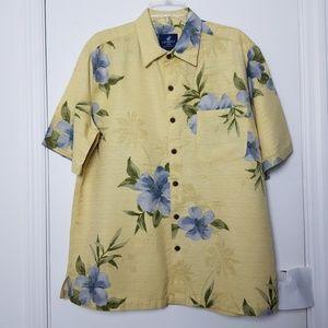 Caribbean Joe Mens Shirt size large.